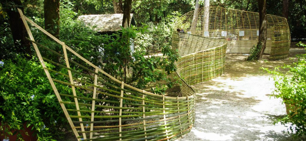 Tetard - Installazione in bambù