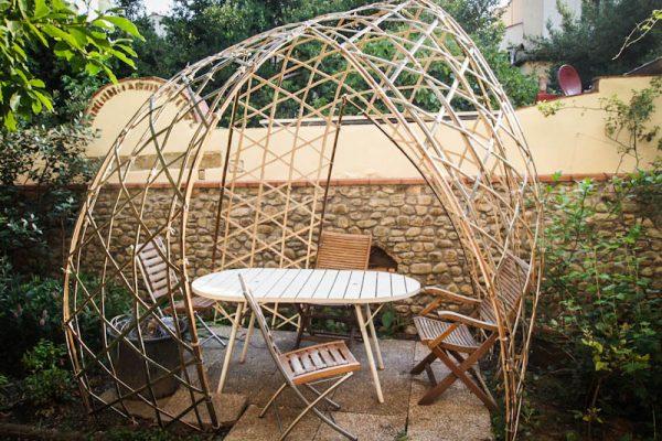 bamboo bambuseto giardino casa corsi gazebo laterale